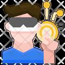 Virtual Reality Technology Augmented Reality Icon