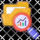 Data Analysis Data Analytics Data Search Icon