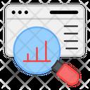 Data Analysis Data Research Web Data Icon
