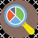 Search Graph Data Icon