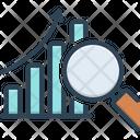 Data Analysis Symbol Analysis Research Icon