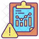 Data Analysis Warning Icon