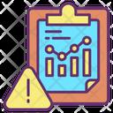 Idata Analysis Data Analysis Warning Data Analysis Alert Icon