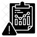Data Analysis Warning Icon