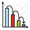 Statistics Bar Graph Data Analytics Icon