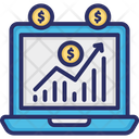 Data Analytics Financial Chart Growth Chart Icon