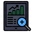Data Analytics Online Analysis Report Icon