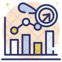 Online Data Data Analytics Bar Chart Icon