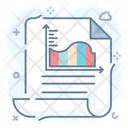 Data Analytics Progress Infographic Icon