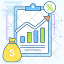 Data Analytics Data Analysis Profit Icon