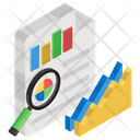 Growth Analysis Market Research Data Analytics Icon