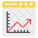 Data Analytics Seo Performance Web Analytics Icon