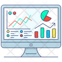 Business Analysis Data Analytics Business Monitoring Icon