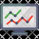 Trend Analysis Data Analysis Seo Icon
