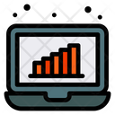 Analysis Analytics Laptop Icon