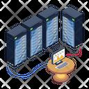 Data Storage Data Analytics Data Display Icon