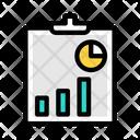 Data Analytics Business Report Data Analysis Icon