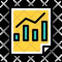 Data Analytics Growth Graph Data Analysis Icon