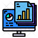 Computer Files Graph Icon