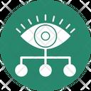 Data Analyzer Data Monitoring Data Optimization Icon
