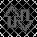 Data Arrow Icon