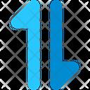Data Connection Arrow Icon
