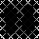 Data Arrow Arrows Up Icon