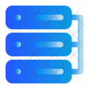 Data Base Cloud Network Icon