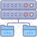Data Base Sync Transfer Icon