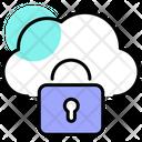 Data Breach Data Lock Data Protection Icon