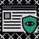 Data Breaches Protection Breaches Protection Secure Website Icon