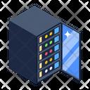 Dataserver Datacenter Big Data Icon