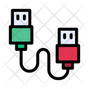 Datacable Connector Wire Icon