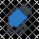 Usb Data Adapter Icon