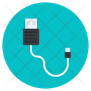 Cord Cable Cable Flash Usb Cable Icon
