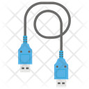 Data Cable Data Wire Usb Cable Icon