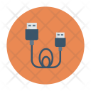 Cable Wire Electronics Icon