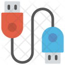 Data Cable Cord Icon