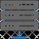 Seo Web Data Center Icon