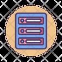 Data Center Center Server Icon