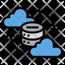 Data Center Server Network Icon