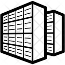 Data Center Servers Icon