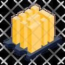 Server Racks Data Center Big Data Icon