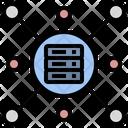 Data Center Database Server Icon