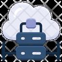 Data Center Data Storage Cloud Storage Icon