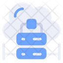 Data Center Cloud Server Server Icon