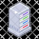 Dataserver Database Datacenter Rack Icon