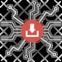 Data Centralization Icon