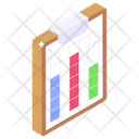 Data Chart Infographic Sheet Statistics Icon