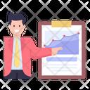 Business Presentation Business Chart Data Chart Icon
